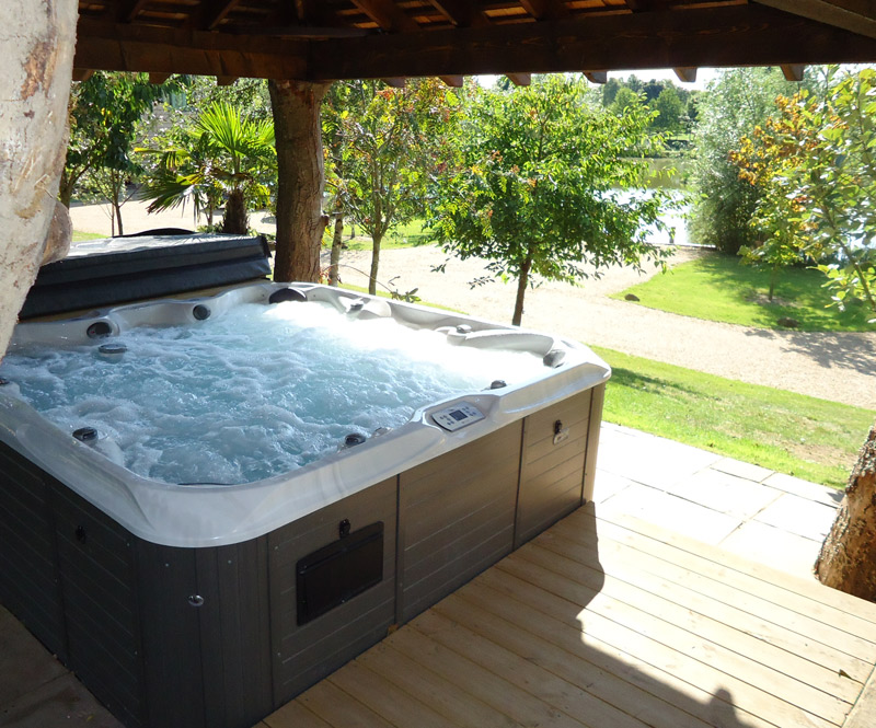 Golden Orfe Hot Tub