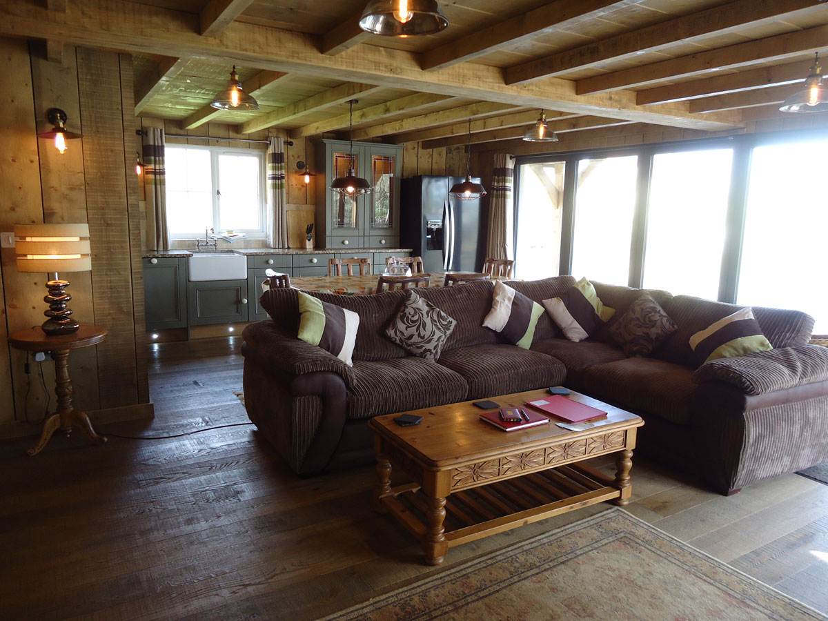 The Boathouse Lounge Area